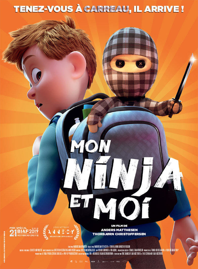 affiche du film Mon ninja et moi