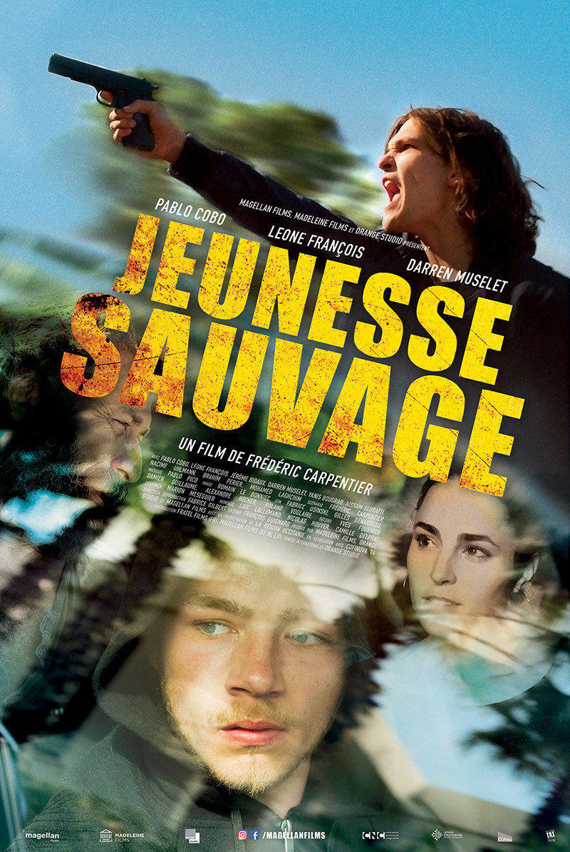 affiche du film Jeunesse sauvage