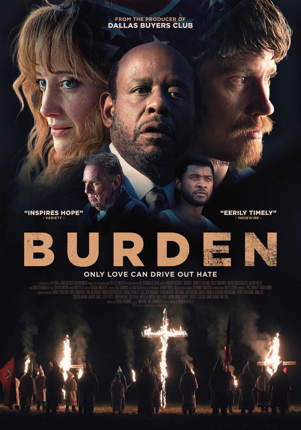 affiche du film Burden