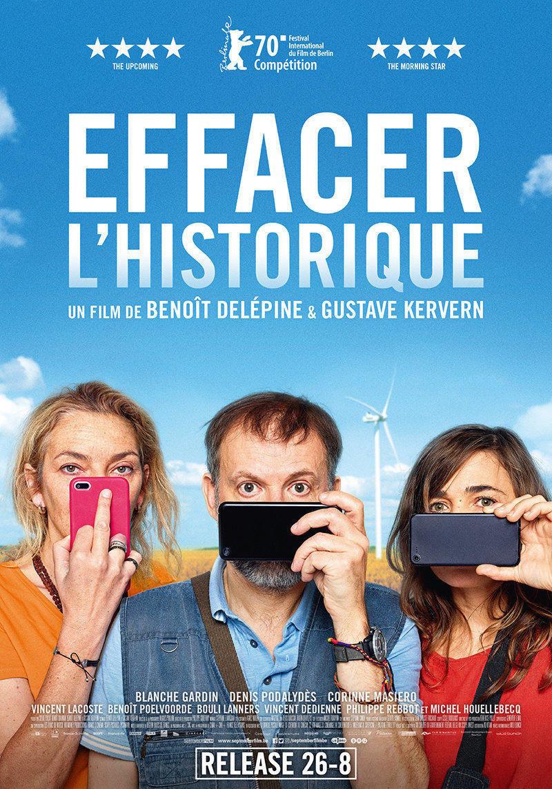 affiche du film Effacer l'historique
