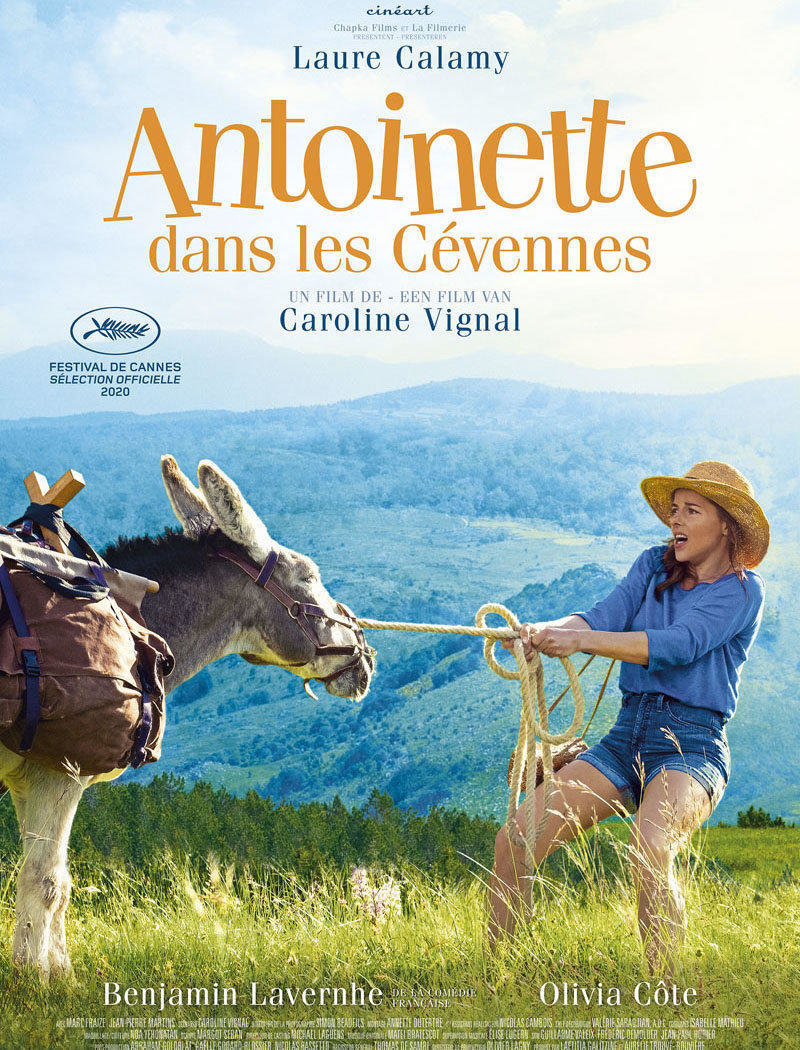 affiche du film Antoinette dans les Cévennes [ANNULÉ]