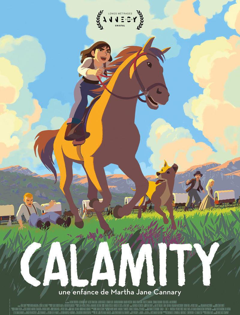 affiche du film Calamity, une enfance de Martha Jane Cannary [ANNULÉ]