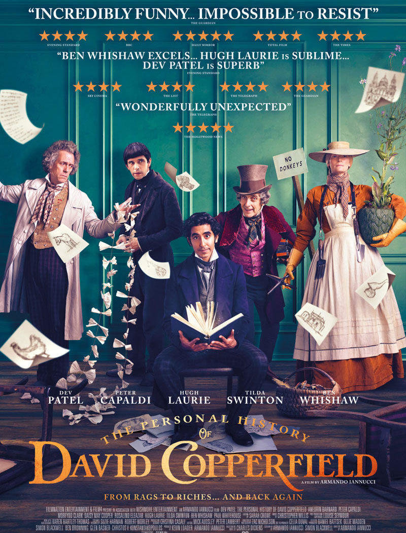 affiche du film The personal history of David Copperfield VF