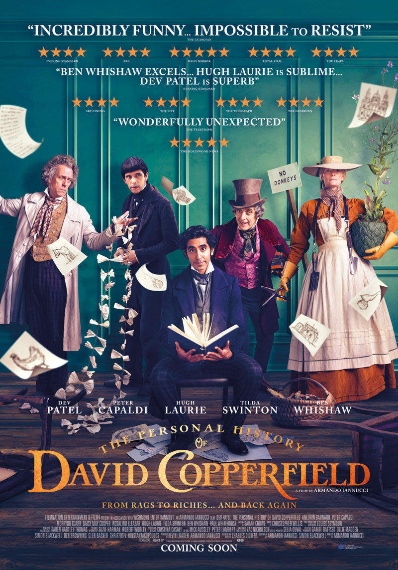 affiche du film The personal history of David Copperfield VO
