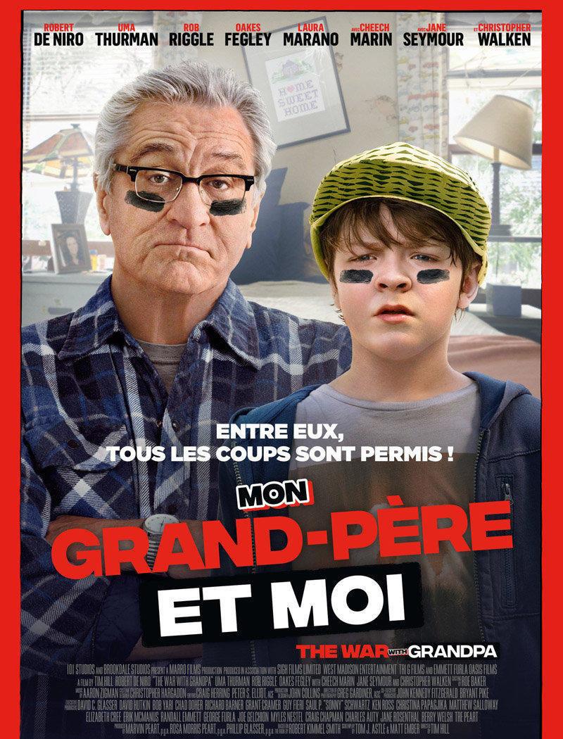 affiche du film Mon grand-père et moi VF [ANNULÉ]
