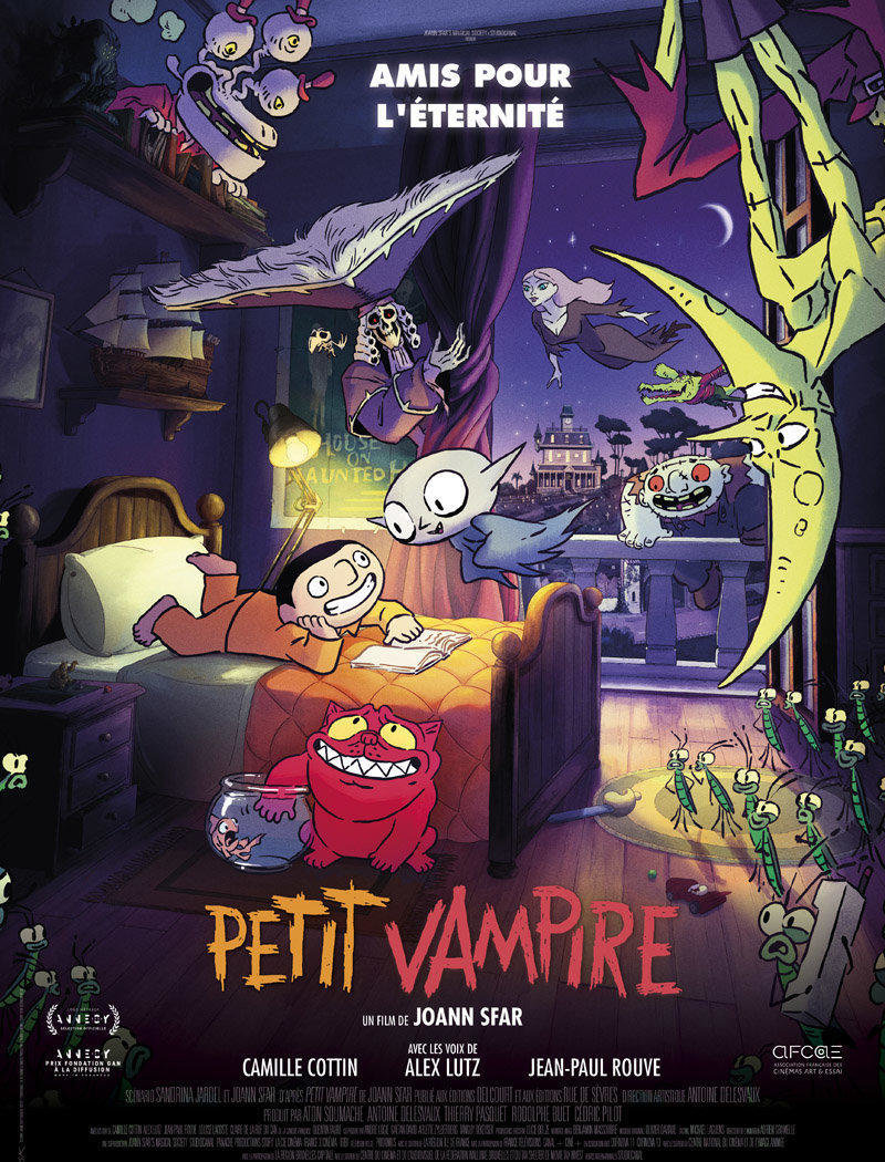 affiche du film Petit Vampire [ANNULÉ]