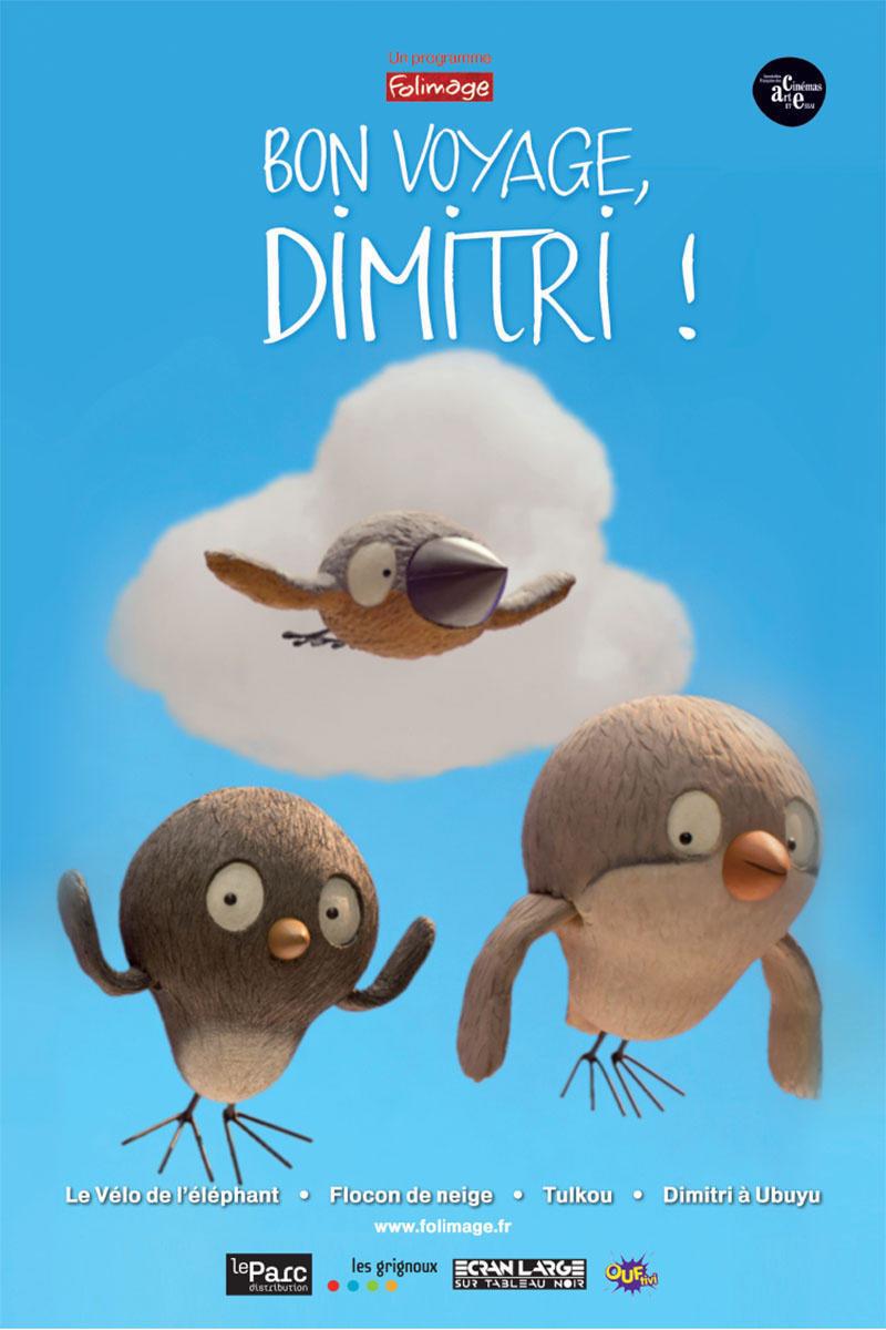 affiche du film Bon voyage, Dimitri !