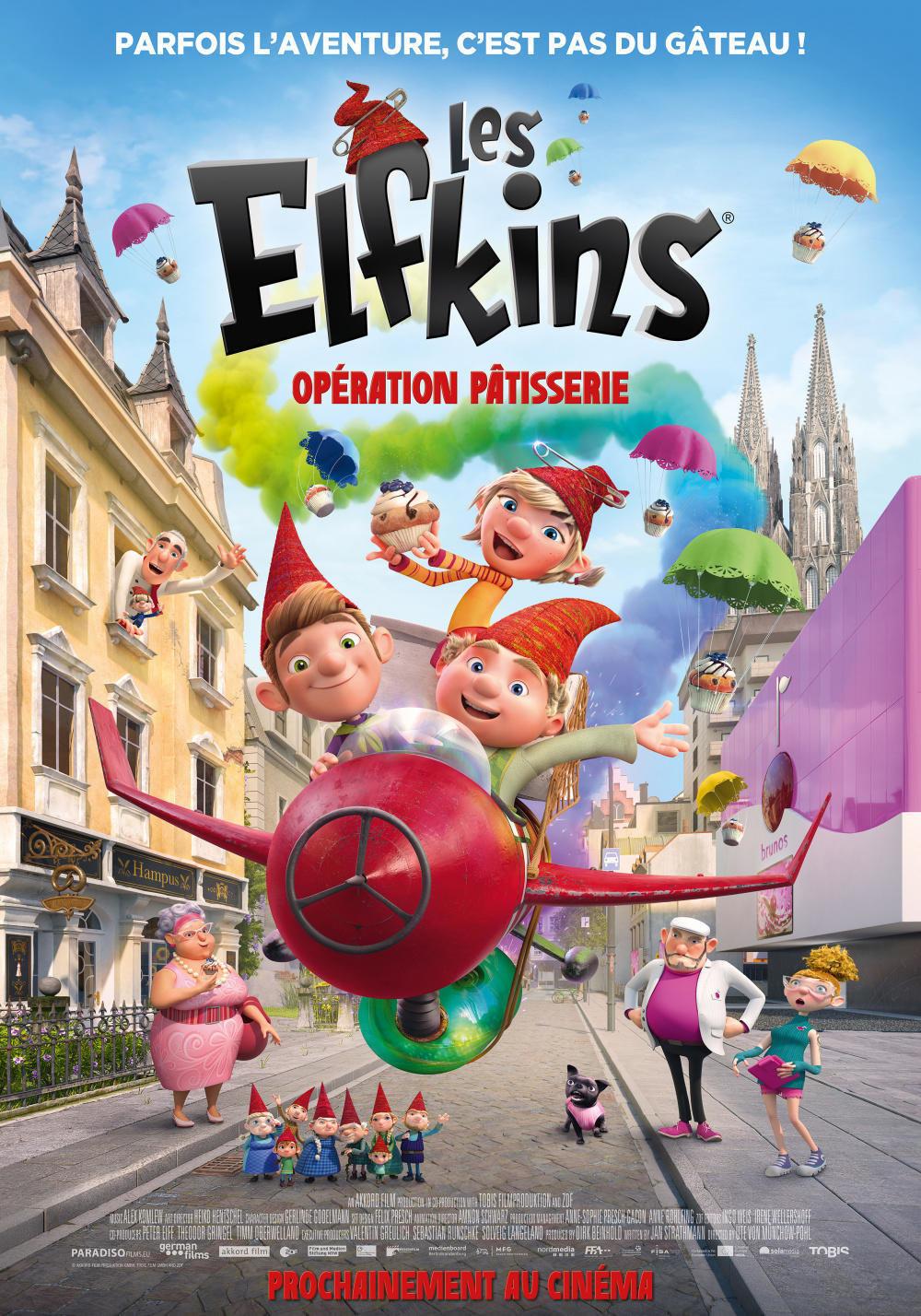 affiche du film Les Elfkins : Opération pâtisserie