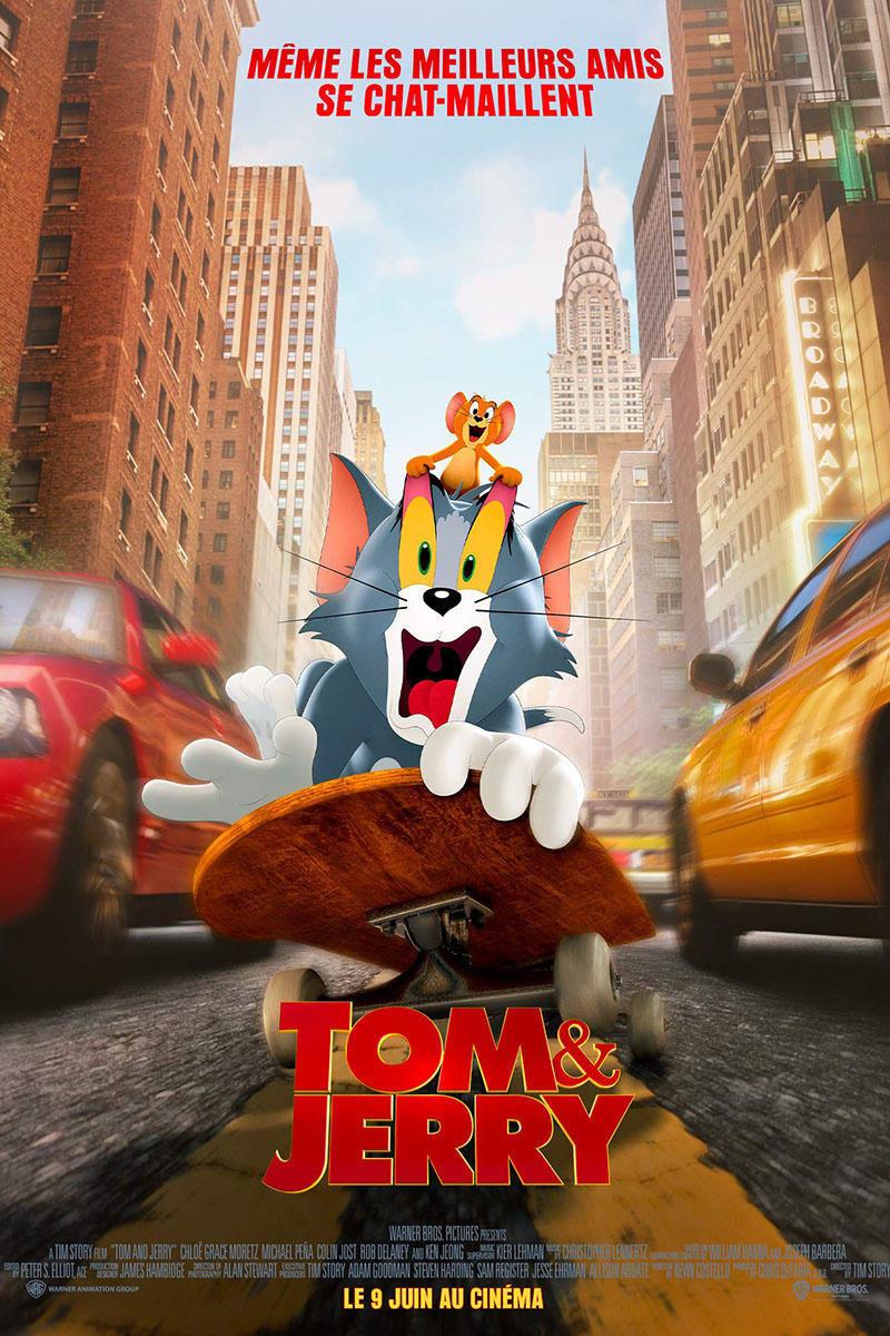 affiche du film Tom & Jerry