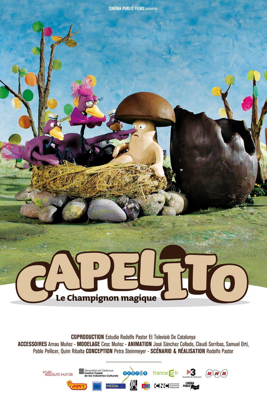 affiche du film Capelito, le champignon magique