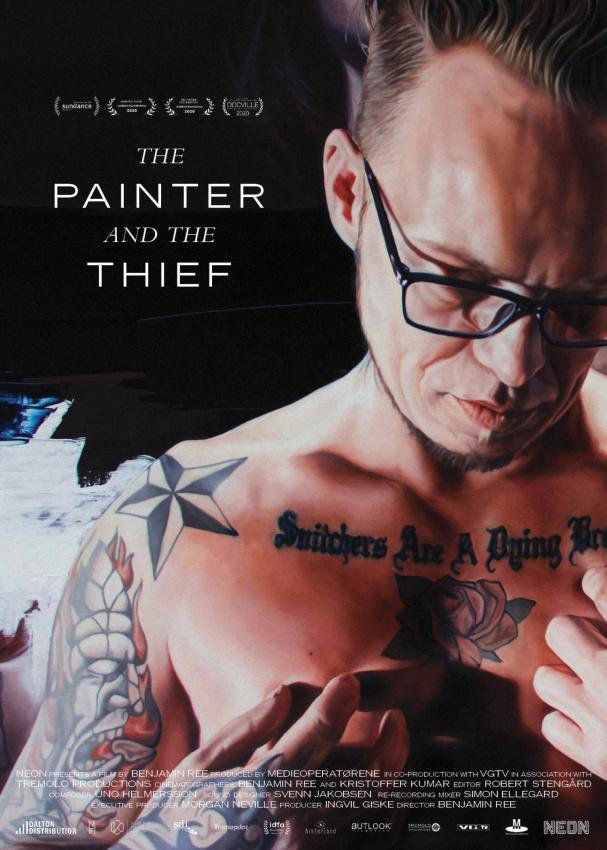 affiche du film The painter and the thief