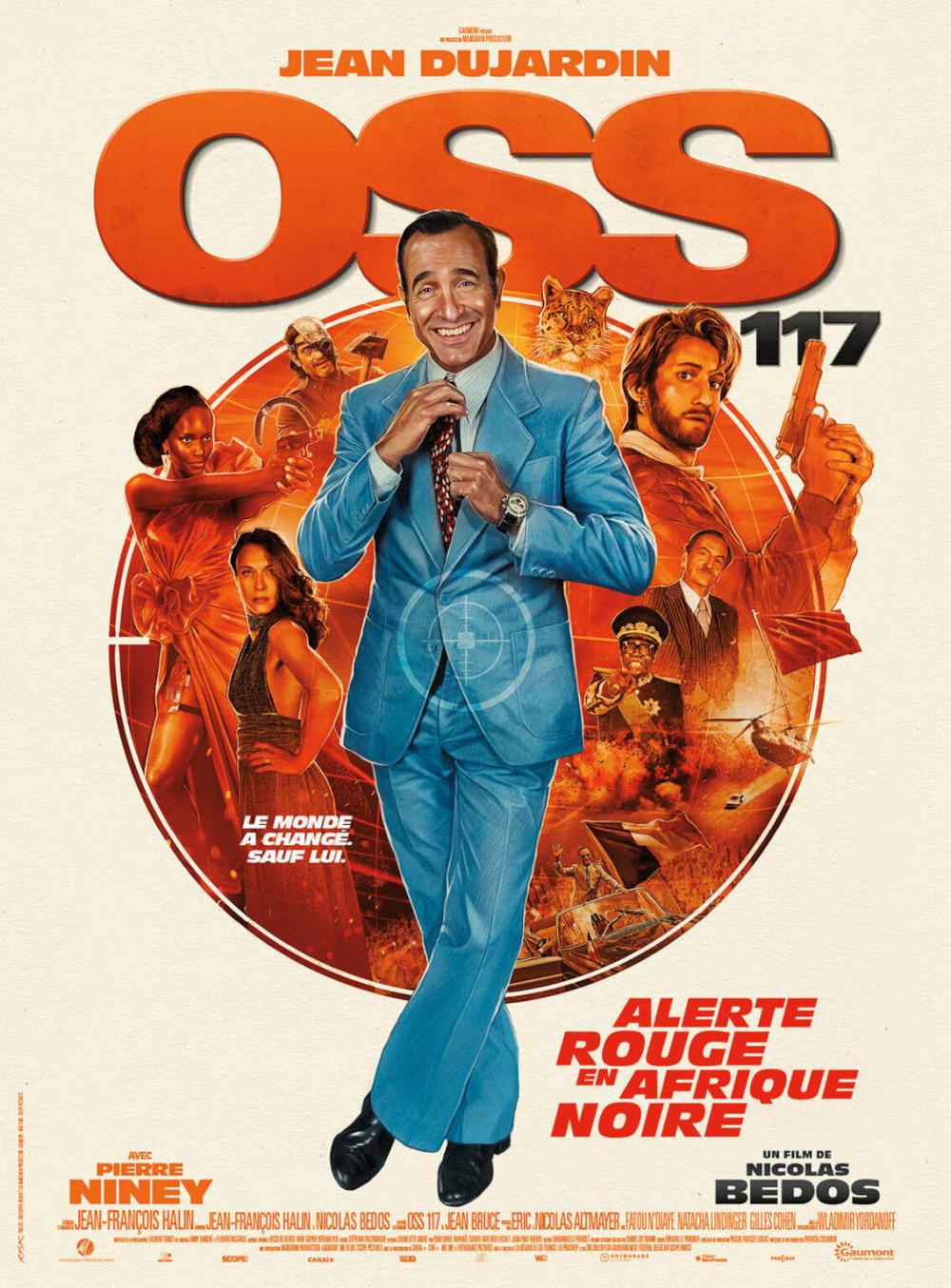 affiche du film OSS 117 : alerte rouge en Afrique noire