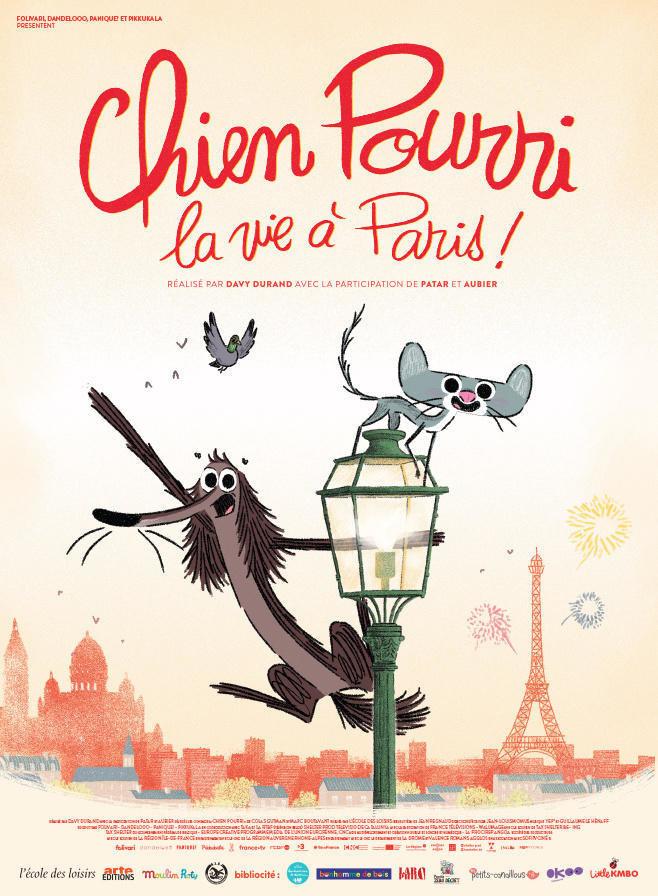 affiche du film Chien pourri, la vie à Paris!