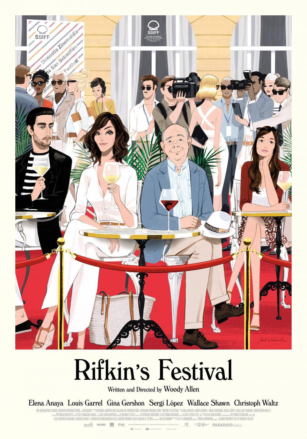 affiche du film Rifkin's festival