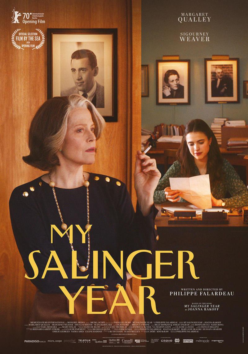affiche du film My Salinger year