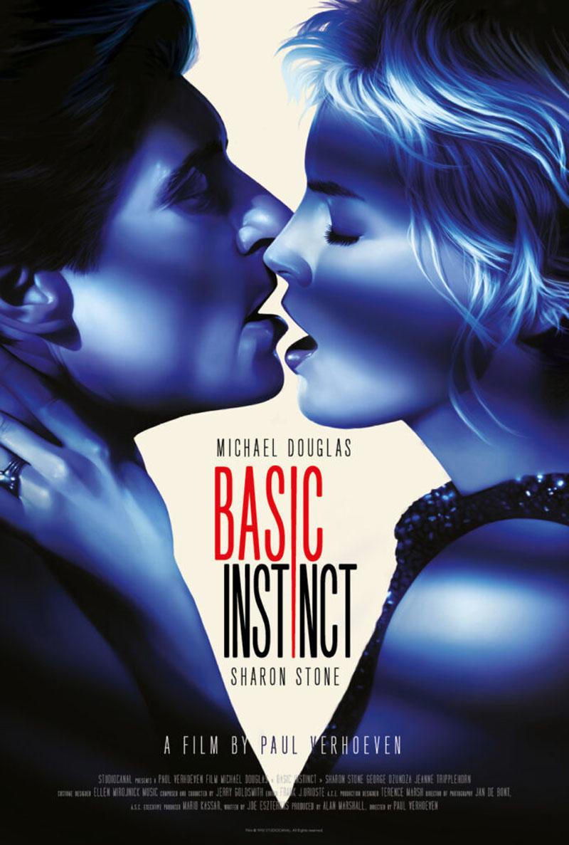 affiche du film Basic Instinct