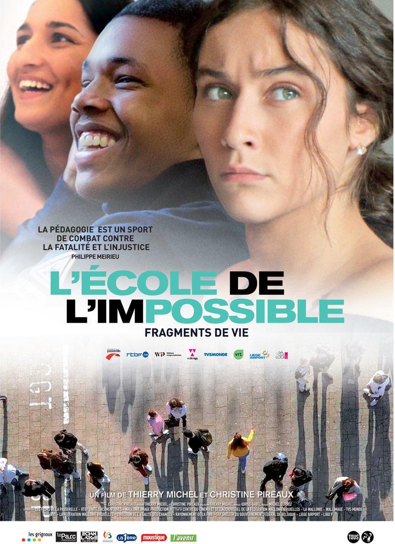 affiche du film L'école de l'impossible