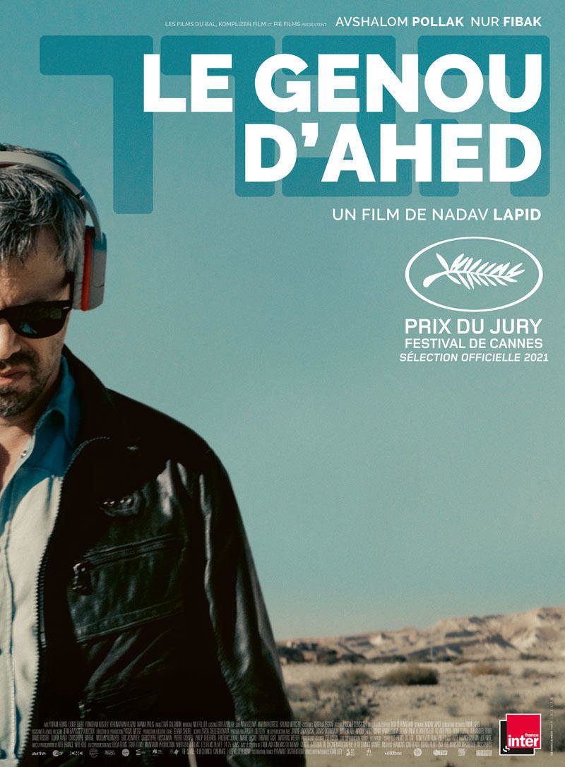 affiche du film Le genou d'Ahed