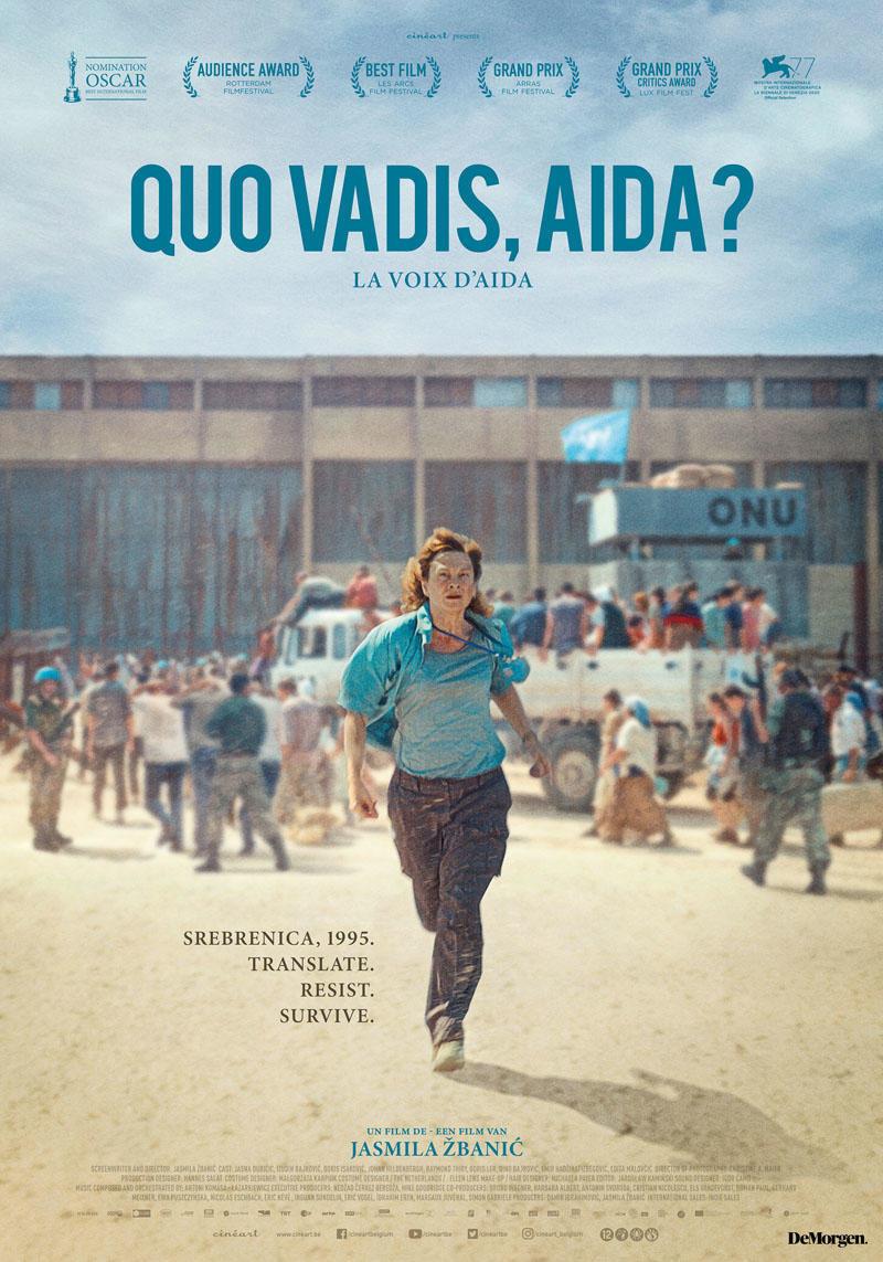 affiche du film Quo vadis, Aida?