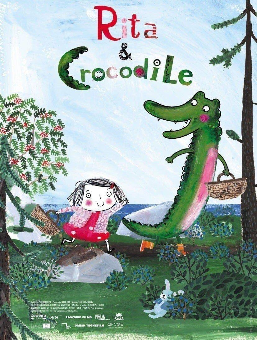 affiche du film Rita et Crocodile