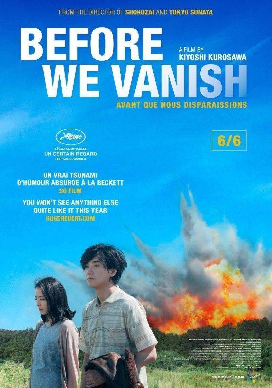 affiche du film Before We Vanish