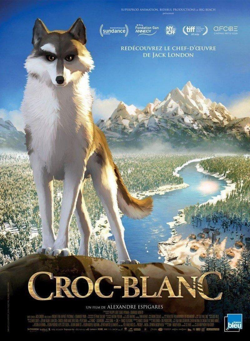 affiche du film Croc-Blanc