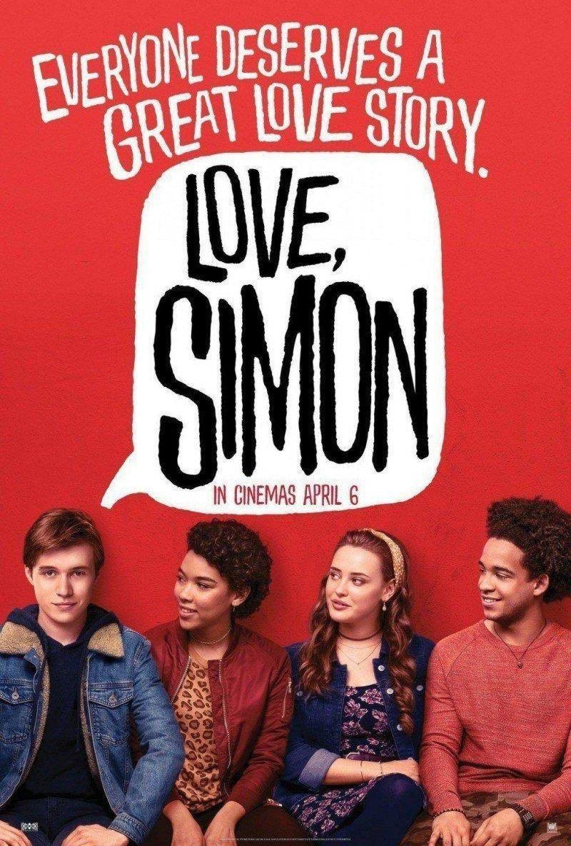 affiche du film Love, Simon
