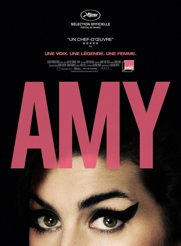affiche du film Amy • Ciné plein air