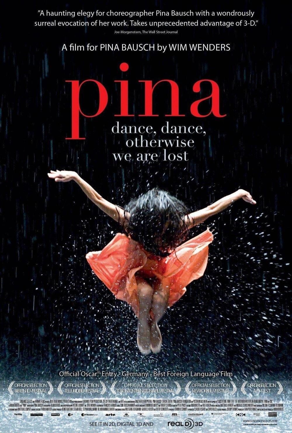 affiche du film Pina • Ciné plein air