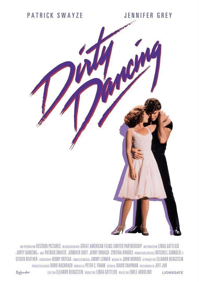 affiche du film Dirty dancing • Ciné plein air