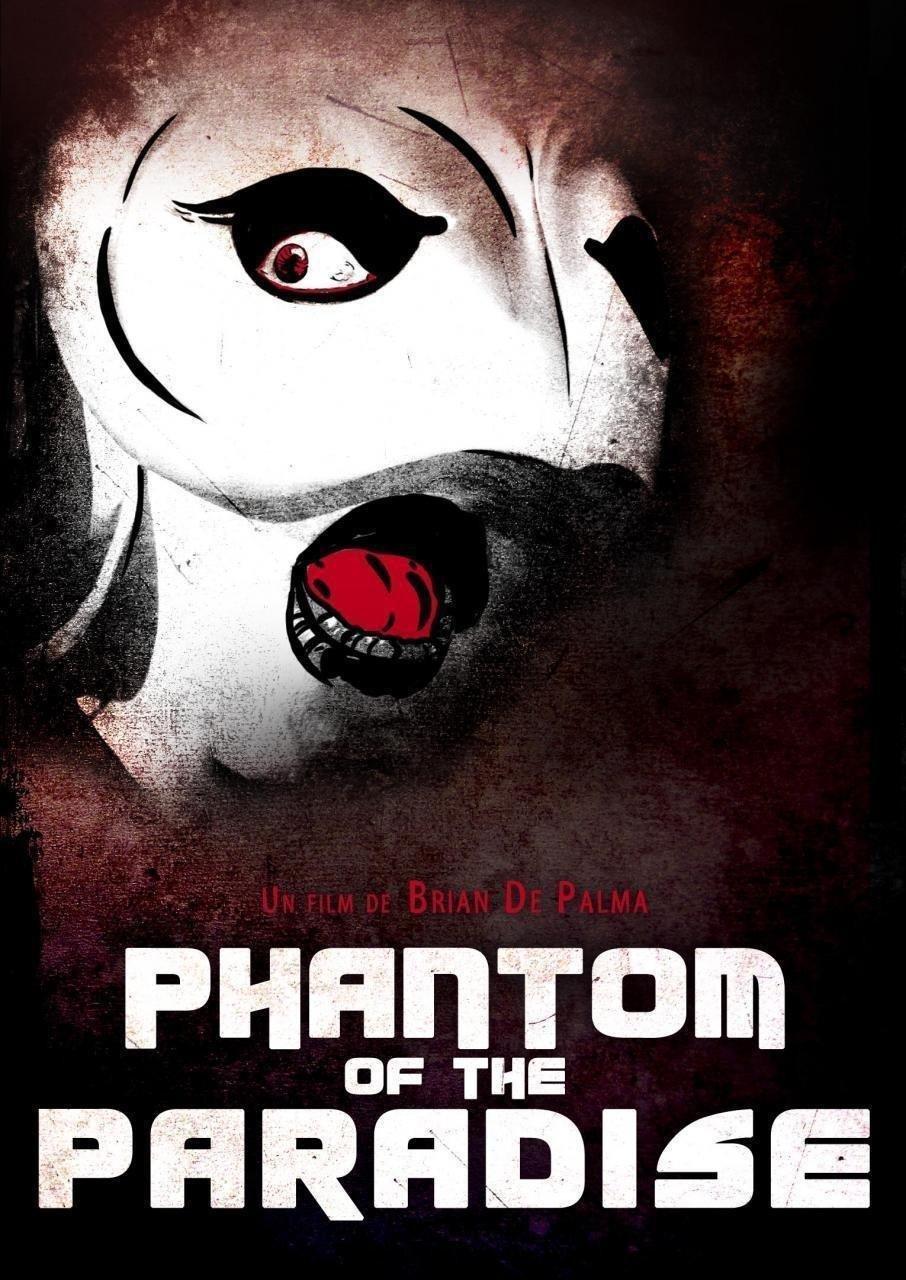 affiche du film Phantom of the paradise • Ciné plein air