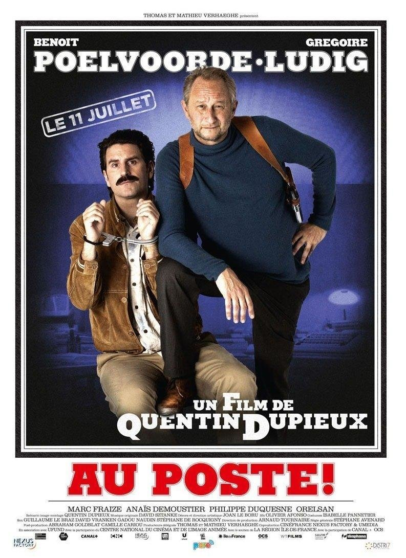 affiche du film Au poste !