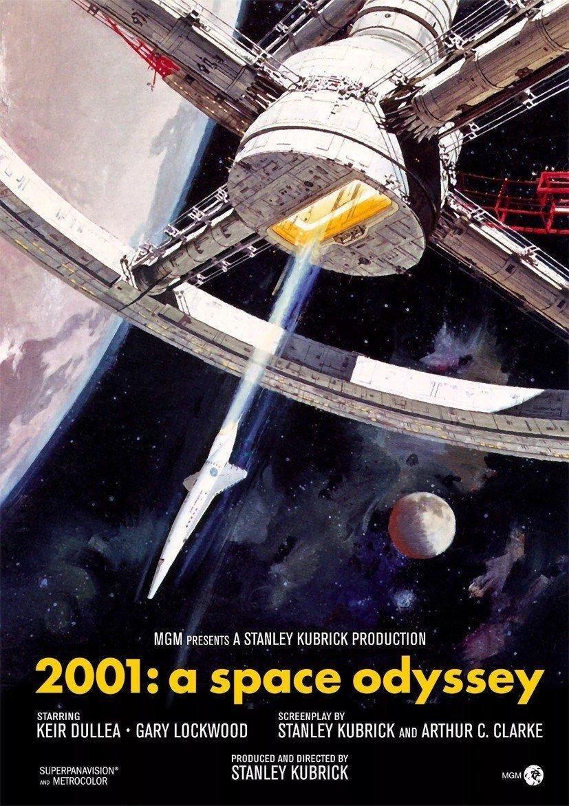 affiche du film 2001 : l'odyssée de l'espace