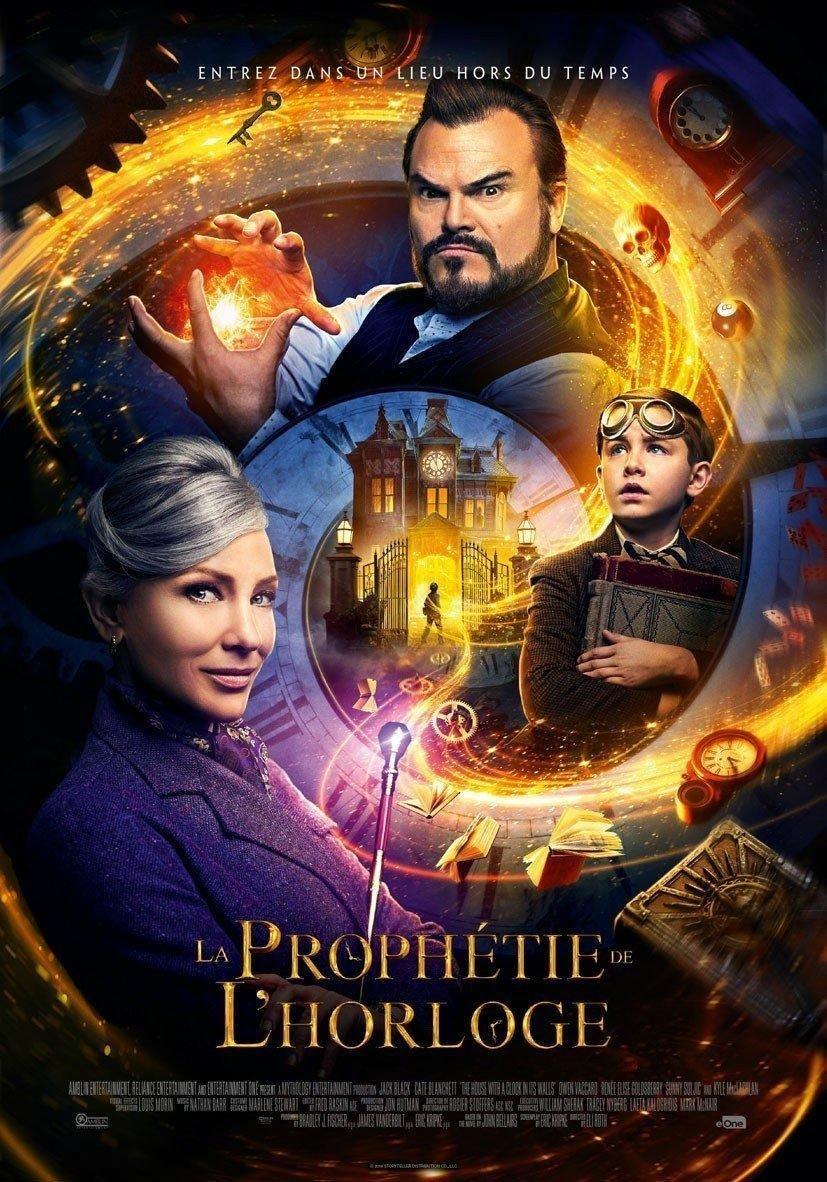 affiche du film La prophétie de l'horloge