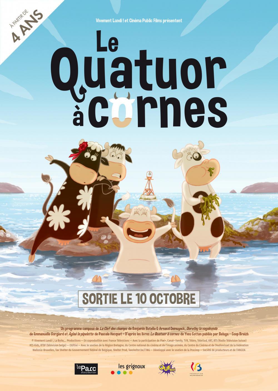 affiche du film Le Quatuor à cornes