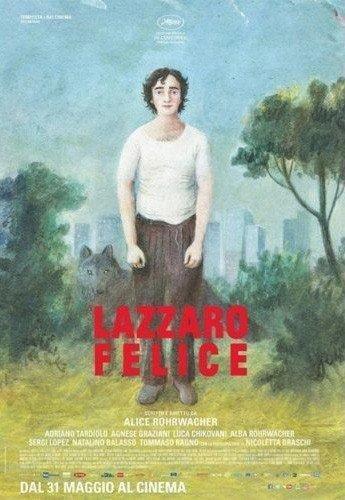 affiche du film Heureux comme Lazzaro