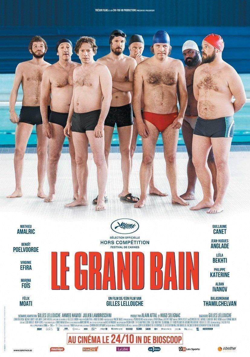 Ciné-club : Le grand bain @ Les Pléiades