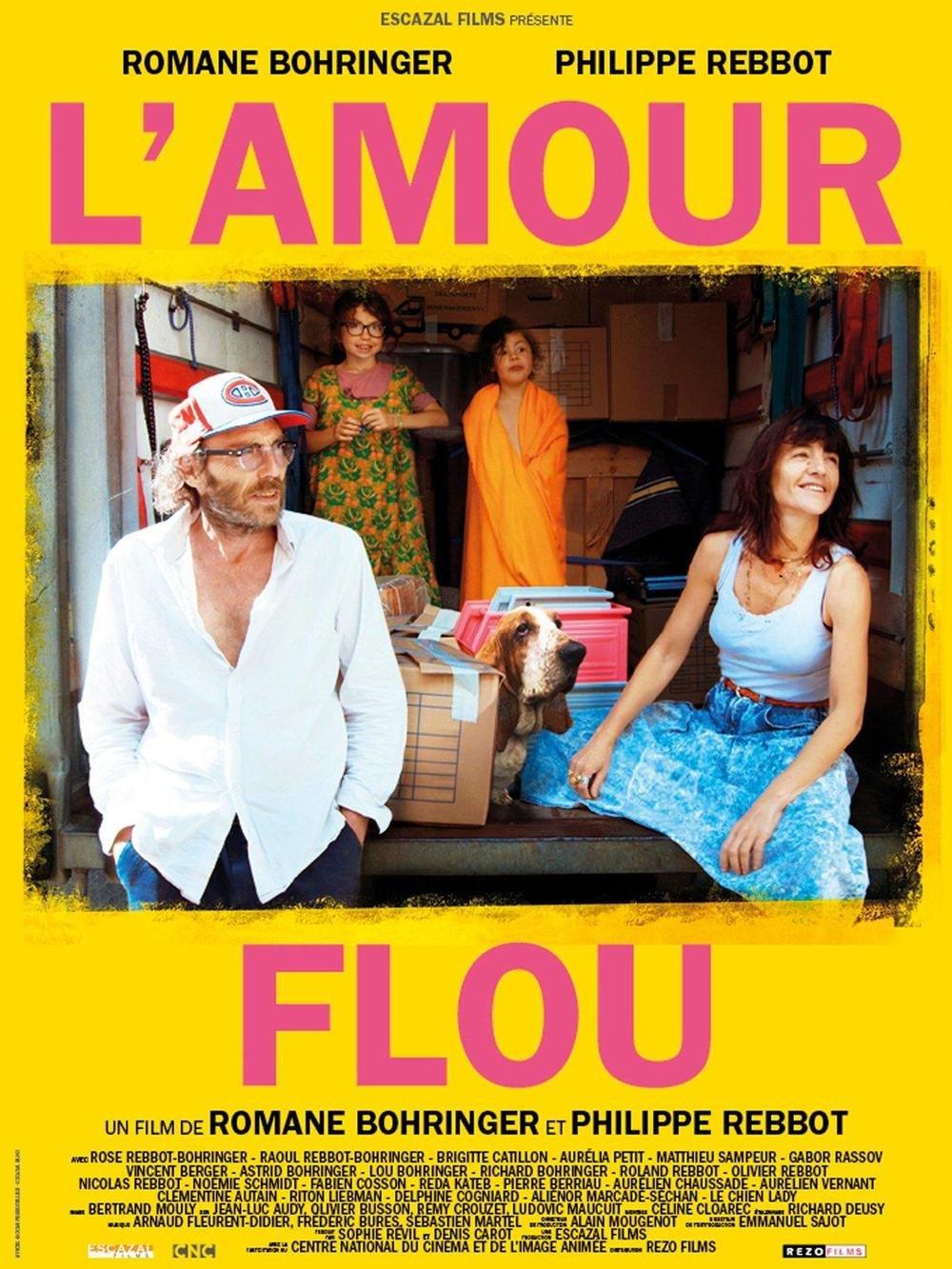 affiche du film L'amour flou