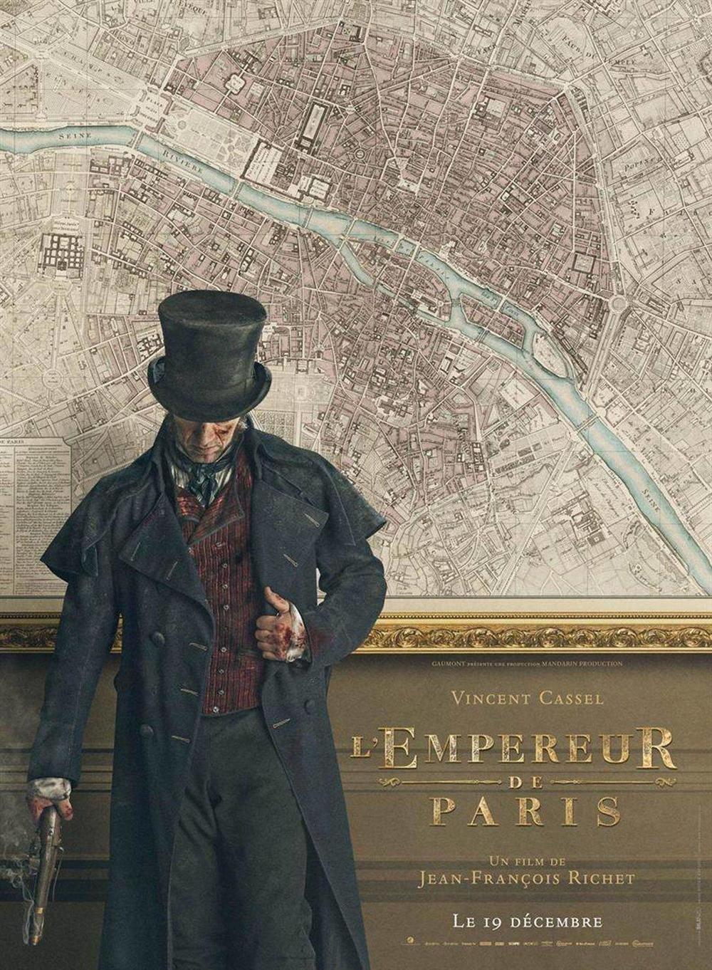 affiche du film L'empereur de Paris