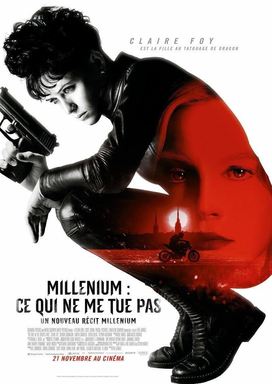 affiche du film Millenium : ce qui ne me tue pas