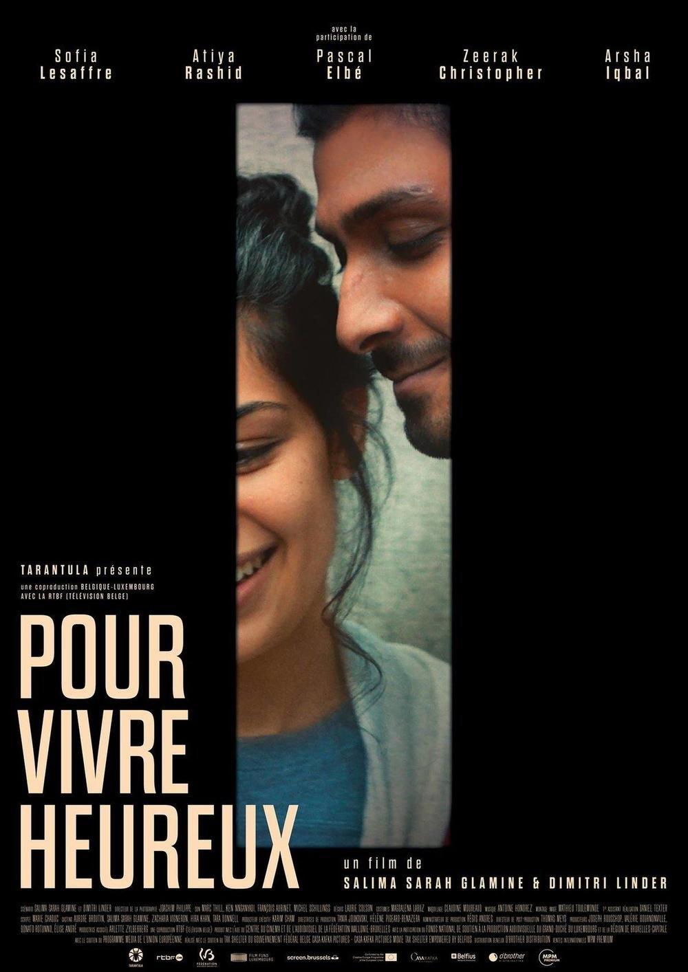 affiche du film Pour vivre heureux