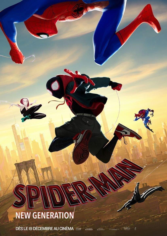 affiche du film Spider-Man : New Generation