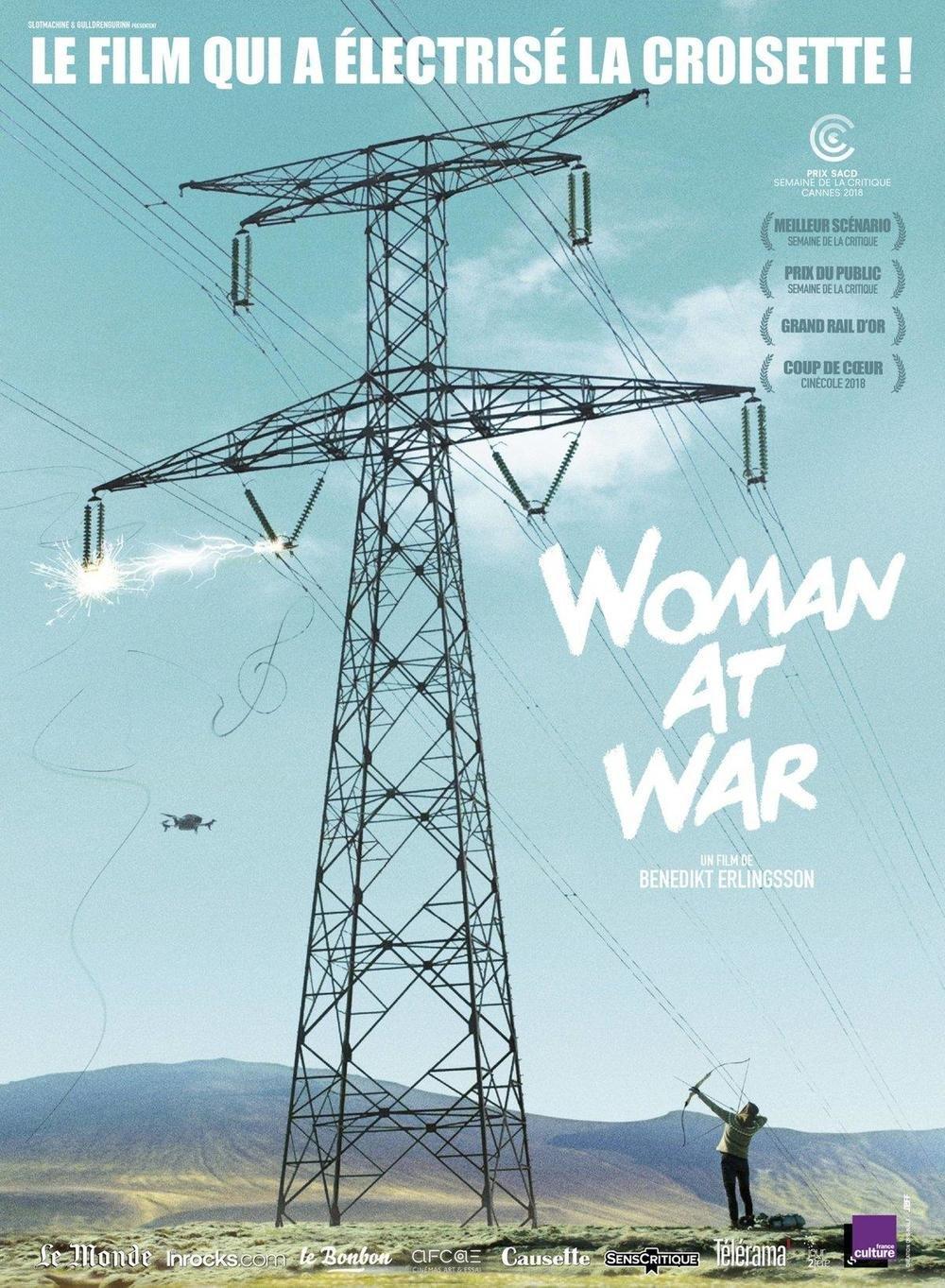 affiche du film Woman at war