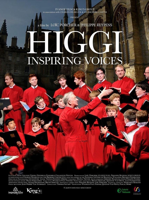 affiche du film Higgi, inspiring voices