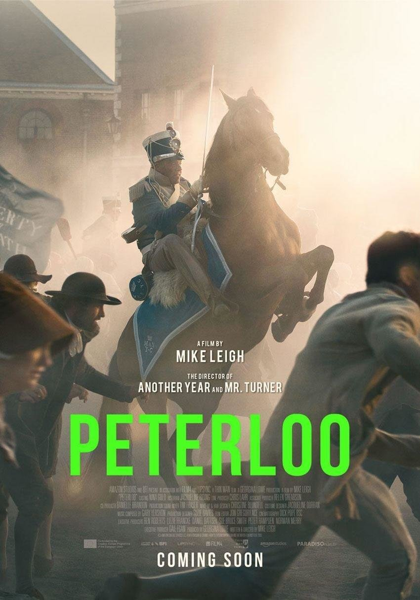 affiche du film Peterloo