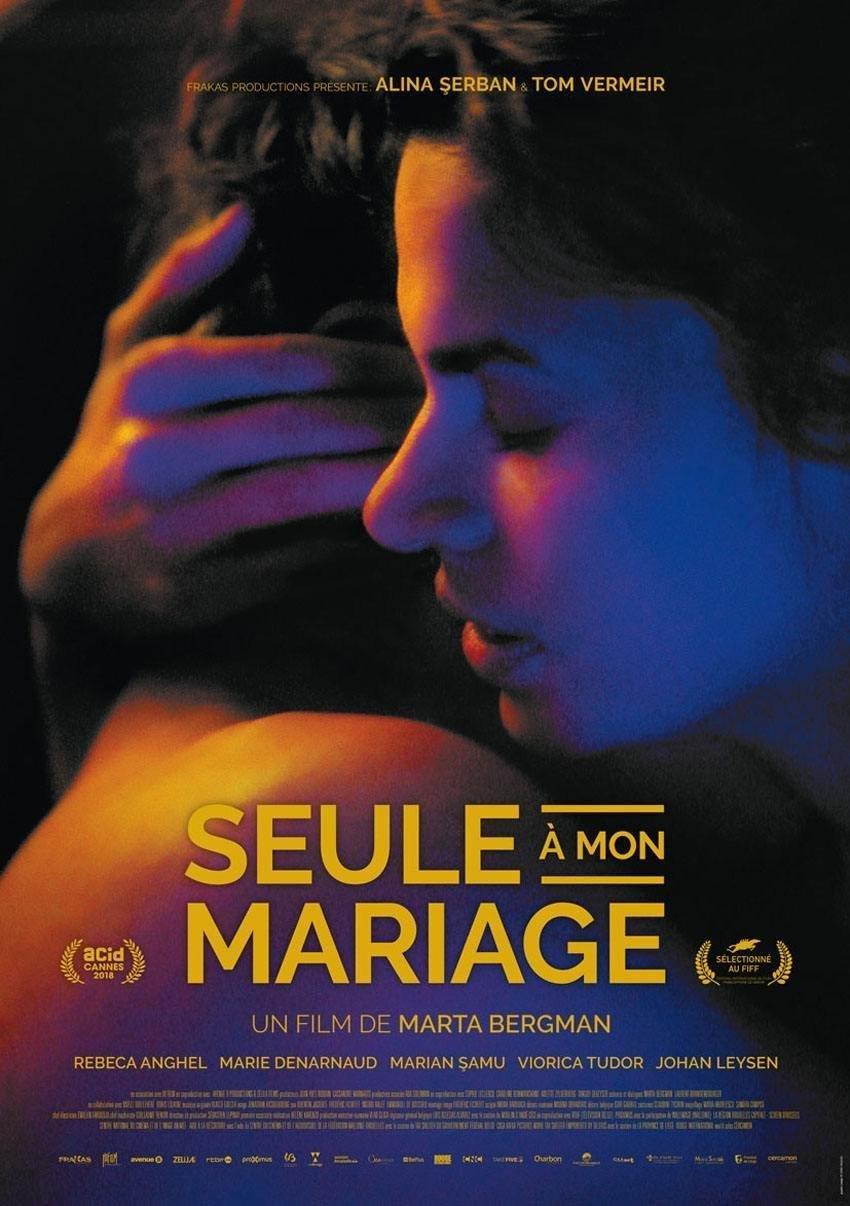 affiche du film Seule à mon mariage