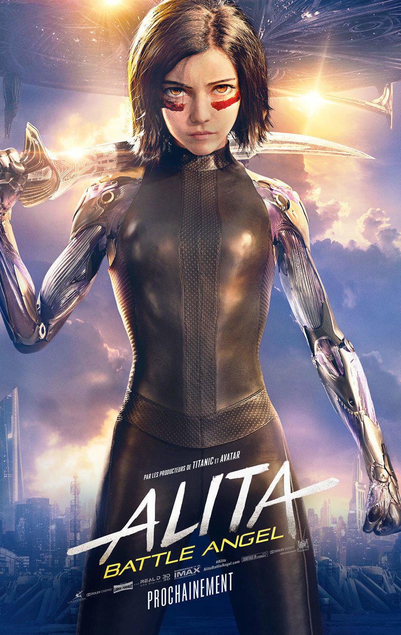 affiche du film Alita: Battle Angel