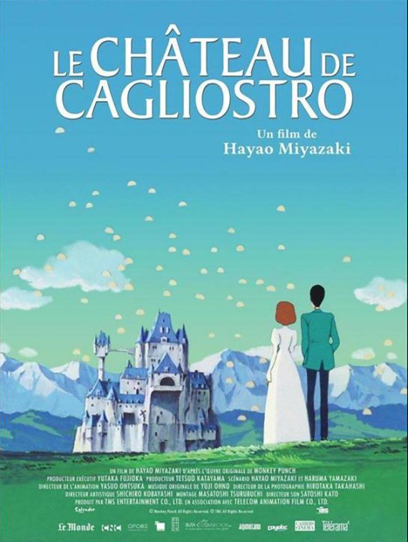affiche du film Le château de Cagliostro
