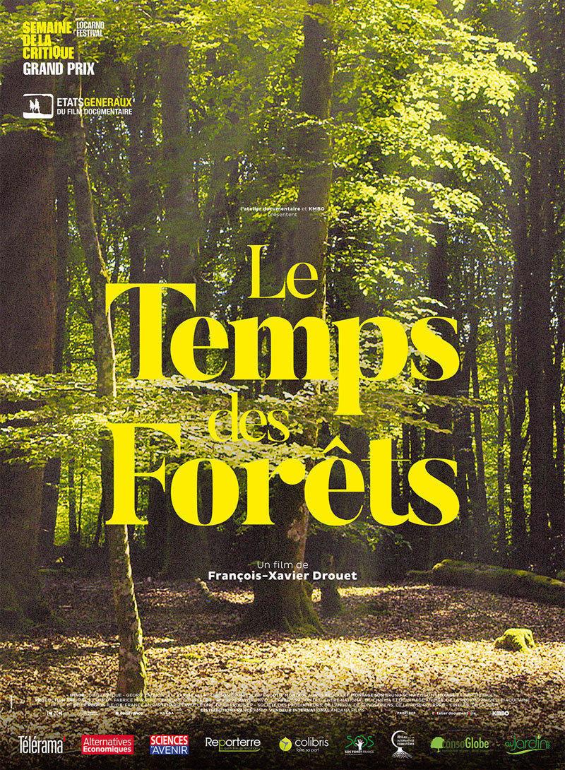 affiche du film Le temps des forêts