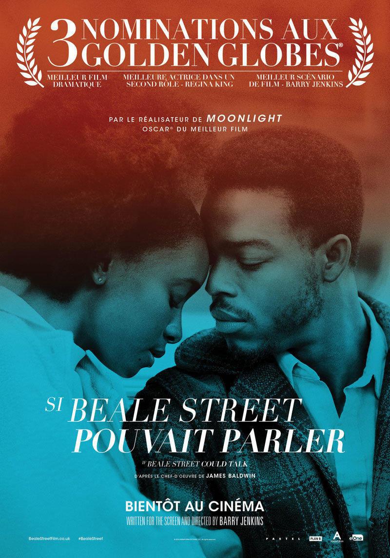 affiche du film Si Beale Street pouvait parler